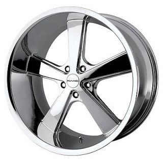 20x10 KMC Nova Chrome Wheel/Rim(s) 5x114.3 5 114.3 5x4.5 20 10