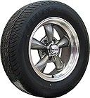 15x7 GRAY REV CLASSIC 100 WHEELS & 215/70 15 GOODYEAR TIRES DODGE