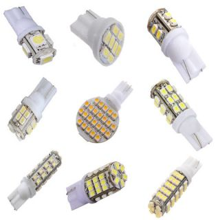 20 SMD T10 5050 W5W SMD 194 168 LED White Car Side Wedge Tail