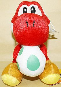 Newly listed RED YOSHI&EGG 7(18CM) SUPER MARIO BROS PLUSH TOY DOLL