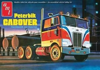 AMT 1/25 Peterbilt 352 Pacemaker COE Cabover Tractor AMT759 KIT NEW