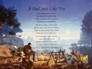DAD POEM PERSONALIZED GIFT IDEAS FOR BIRTHDAY, CHRISTMAS, FATHERS DAY