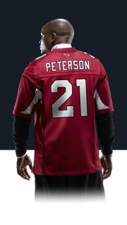 Patrick Peterson Mens Football Home Game Jersey 468942_676_B_BODY