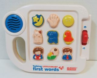 Little Smart First Words ABC Plus Baby Learning Toy Musical