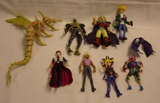 Yu Gi Oh Super Lot of 20+ Action Figures Egyptian God Ra Tormentor