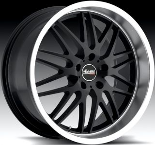 20X8.5 Advanti Racing Kudos 5x120 +40 Matte Black Rim Wheels FITS BMW