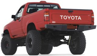 Warn Industries Rock Crawler Rear Bumper for Toyota Pickup 68490