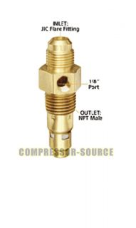Air Compressor in Tank Check Valve 1 2 x 1 2 Flare