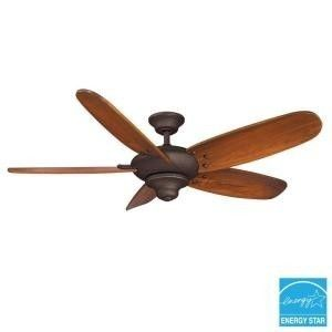 Hampton Bay Altura 68 in Indoor Oil Rubbed Bronze Ceiling Fan