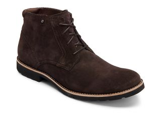 Rockport Mens Ledge Hill Casual Dress Boots Bitter Chocolate Suede