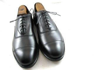 New Allen Edmonds Park Avenue Oxfords 10 D Black