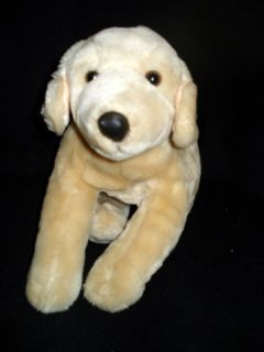 Animal Alley Plush Stuffed Yellow Labrador Golden Retriever Puppy Dog