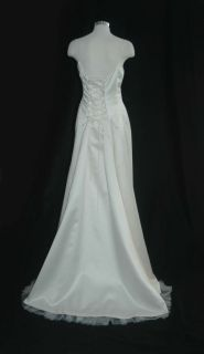 750 NICOLE MILLER MATERNITY Wedding Gown A PEA IN THE POD nwt MEDIUM