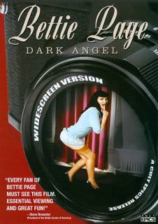 Bettie Page Dark Angel DVD, 2012, WS