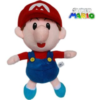 Game Super Mario Brothers 22cm Plush Toy Baby Mario Stuffed Teddy cute