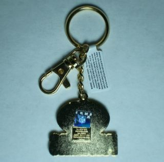 NFL Green Bays Zamac Keychain   metal key chain