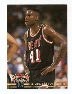 Topps Stadium Club Members Choice Basketball Trading Card 203