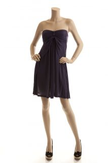 BCBG Max Azria Purple Knit Jersey Cover Up Dress Size XS