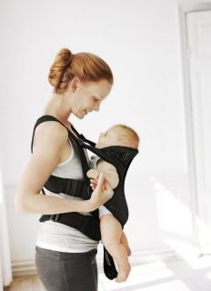 babybjorn baby carrier miracle black mesh new designed for newborns