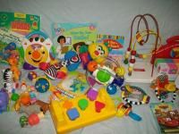 Large Lot of Developmental Baby Toys Fisher Price Leap Frog
