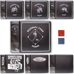 PC BCW 3 Baseball Trading Card Album Binder
