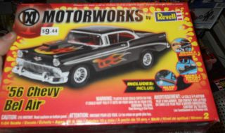 REVELL1956 CHEVY BEL AIR HARDTOP MOTORWORKS FS Model Car Mountain KIT
