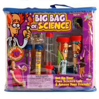Be Amazing Toys Big Bag of Science Original 70 Experiments Educational