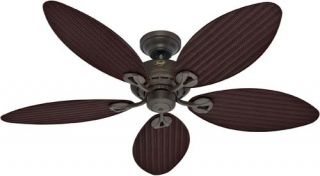 Hunter Bayview 54 Provencal Gold Ceiling Fan Model 23980 NIB