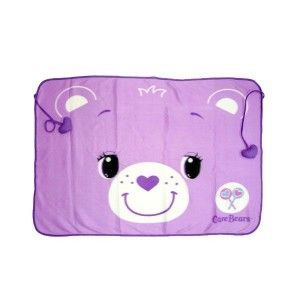 Share Care Bear Purple Baby Infant Receiving Blanket
