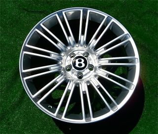 Set of 4 NEW Bentley Continental GT Flying Spur SPEED 20 inch WHEELS