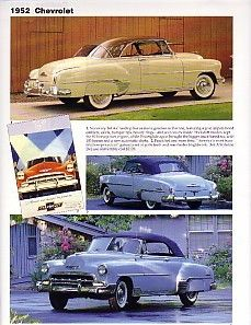 1952 Chevy Bel Air Convertible Article Must See