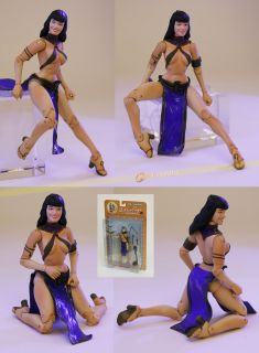 New Pin Up Sexy Bettie Page Action Figure Extreme Poses
