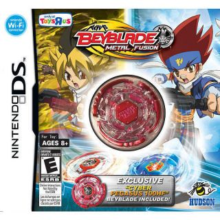 Beyblade Metal Fusion Nintendo DS Game 2010 Ships in Box not Envelope