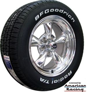 Classic 100 Wheels 215 245 BFGoodrich Tires Dodge Charger 1969