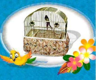 JT Bird Cage Seed Catcher 12x18 Asst Color Fabric Cover
