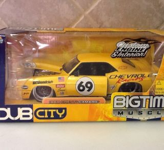 Jada Toys 1 24 Scale Dub City Big Time Muscle 1969 Chevy Camaro Racing