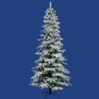 Bethlehem Lights Pre Lit 6 5 Flocked Hunter Fir Christmas Tree Multi