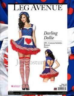 Sexy Darling Dollie Raggedy Ann Rag Doll Womens Adult Halloween
