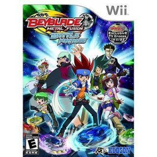Beyblade Metal Fusion Kids Video Game for Wii
