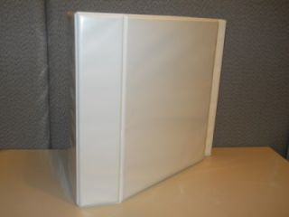 White 5 Nonstick Heavy Duty EZD Ring Reference View Binder