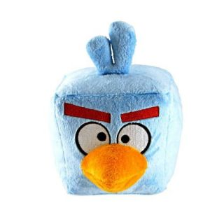 Angry Birds Space Ice Cube Bird Soft Stuffed Deluxe Plush Doll RARE 5