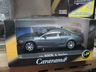 BMW 6 Series Dual Door Coupe Model Car 1 24 Hongwell Cararama Free