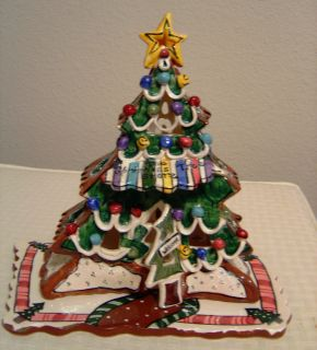 Blue Sky Clayworks The Christmas Tree Store Candle House by Heather