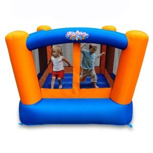 Blast Zone Little Bopper Inflatable Bounce House for Kids Blower