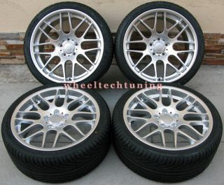 19 BMW CSL Style Staggered Wheels and Tires for M3 Z4M