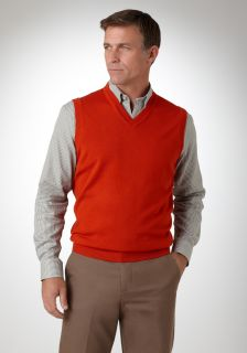 Bobby Jones Men's Merino V Neck Sweater Vest