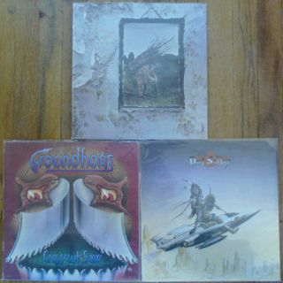 70s British Blues Rock Lot includes LED ZEPPELIN IV, GROUNDHOGS & DOG