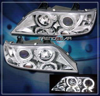 96 02 BMW Z3 Halo Projector Headlight Lamp Clear 97 98 99 00 01 M