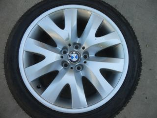 E66 745 750 760 OEM 19 Inch Borbet Alloy Wheel Rim 245 45 R19 V Spoke