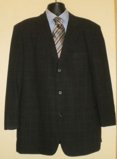 Hugo Boss Black Label Einstein Sigma 3Btn Jacket Blazer Size 46 46R
